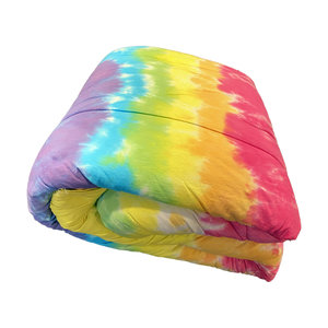Snow Cone Tie Dye Comforter