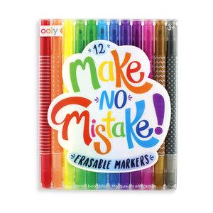 Make No Mistake Erasable Markers
