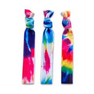 Tie Dye Hair Tie Bracelets
