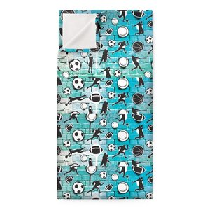 Teal Sports Graffiti Sleep Sack