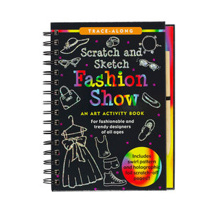 Fashion Show Scratch and Sketch