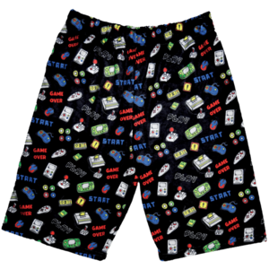 Level Up Fuzzy Shorts