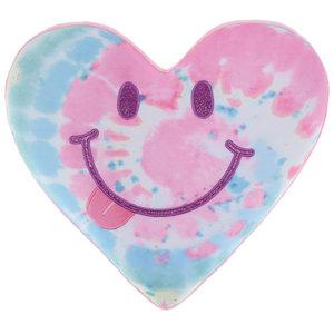 Swirl Tie Dye Happy Pillow