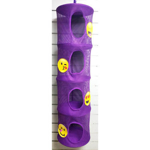 Purple Emoji Hanging Storage