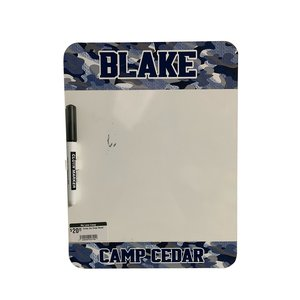Distressed Camo Dry Erase Board