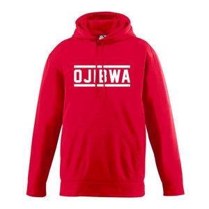 Camp Ojibwa Red Performance Hoodie