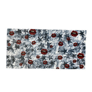 Grunge Star Roses Towel