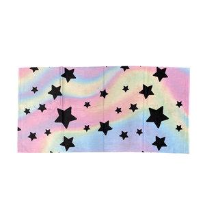 Pastel Tie Dye Star Towel