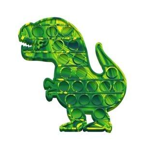 Pop Fidgety Tie Dye Dino