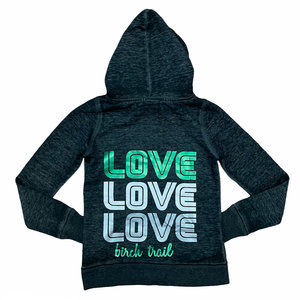 Retro Triple Love Sweatshirt