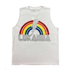 Camp Rainbow Bolt Sleeveless Shirt