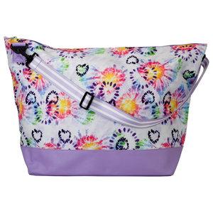 Heart Tie Dye Weekender Bag