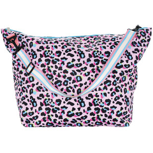 Pink Leopard Weekender Bag