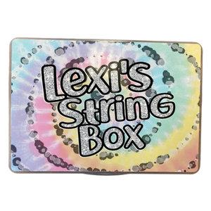Pastel Tie Dye Friendship Bracelet Box