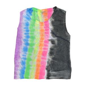 Ibiza Sleeveless Tie Dye shirt