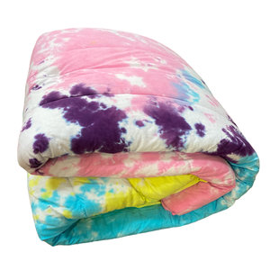Cotton Candy Tie Dye Comforter