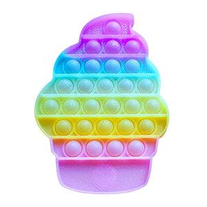 Limited Edition Glitter Ice Cream Cone Pop It