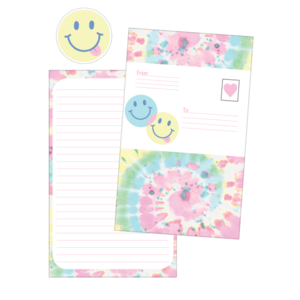 Swirl Tie Dye Foldover Cards