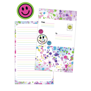 Confetti Foldover Cards