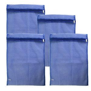 Basic Sock Bag Blue Set of 4