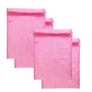 Basic Sock Bag Pink Set of 4