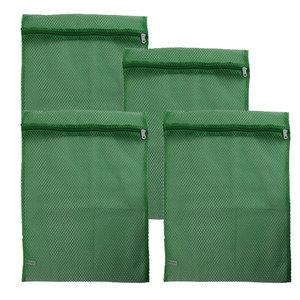 Basic Sock Bag Green Set of 4