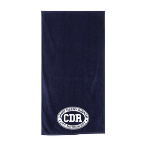 Camp Deeny Riback Embroidered Towel