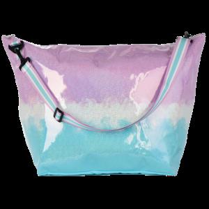 Sparkling Purple Ombre Weekender Bag