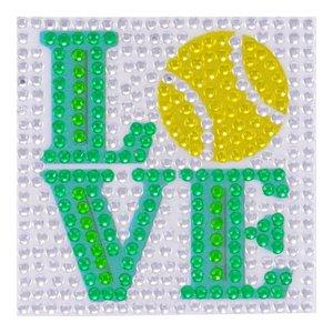 Tennis Love StickerBean