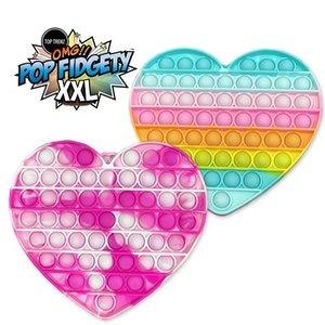 OMG Pop Fidgety - XXL Heart
