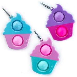 OMG! Mega Pop Cupcake Keychain