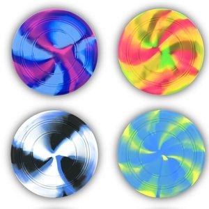 Tie Dye Flying Frisbee