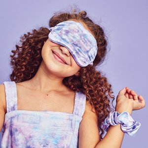 Purple Sky Eye Mask and Scrunchie Set
