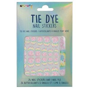 Tie Dye Nail Stickers