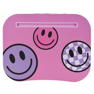 Checkered Smiles Lap Desk
