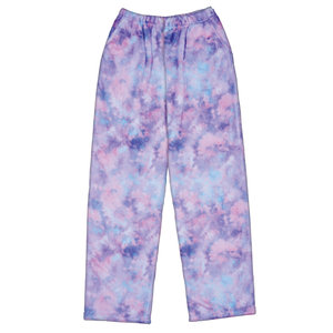 Purple Sky Fuzzy Pants