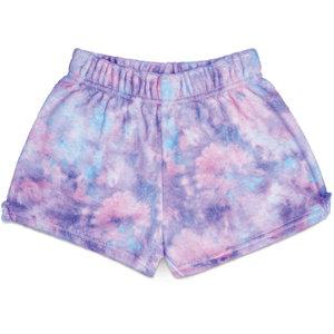 Purple Sky Fuzzy Shorts
