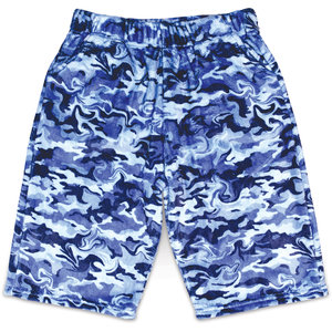 Wild Camo Fuzzy Shorts