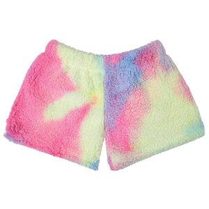 Rainbow Sherpa Shorts