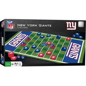 NY Giants Checkers