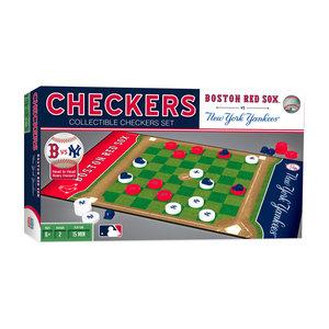 Team Checkers NY Yankees vs Red Sox