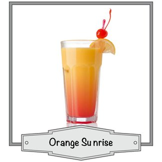 JoJo Vapes Orange Sunrise