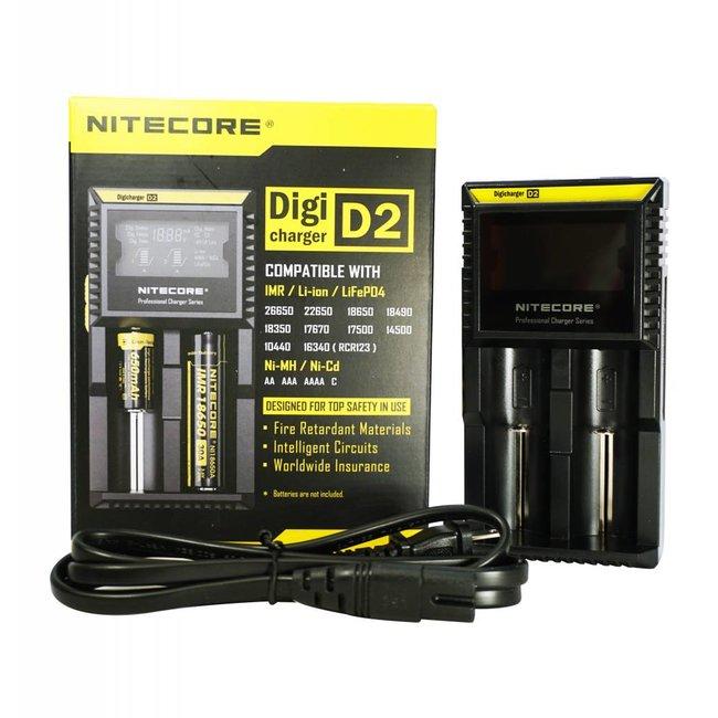 NiteCore D2 Charger - JoJo Vapes