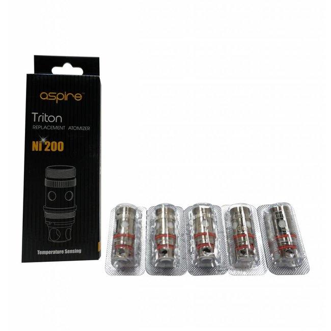 ni200 E-cigarette & Vape Parts Aspire Triton Coils 5 Pack
