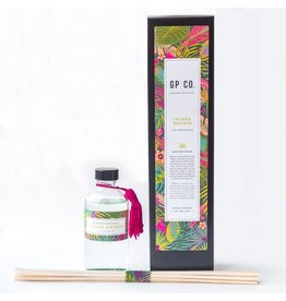 4 OZ PALM + PETAL REED DIFFUSER
