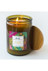 10 OZ CANDLE PALM + PETAL