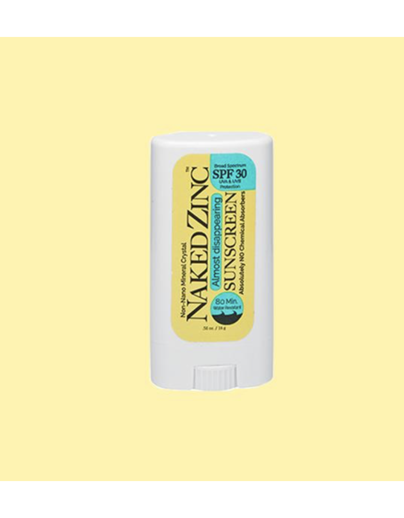 NAKED ZINC 0.56 OZ SPF 30 SUNSCREEN STICK