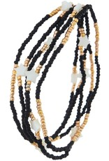 BEADED STRETCH BRACELET - SET