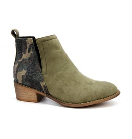 CAMO / OLIVE SHIELD BOOTIE