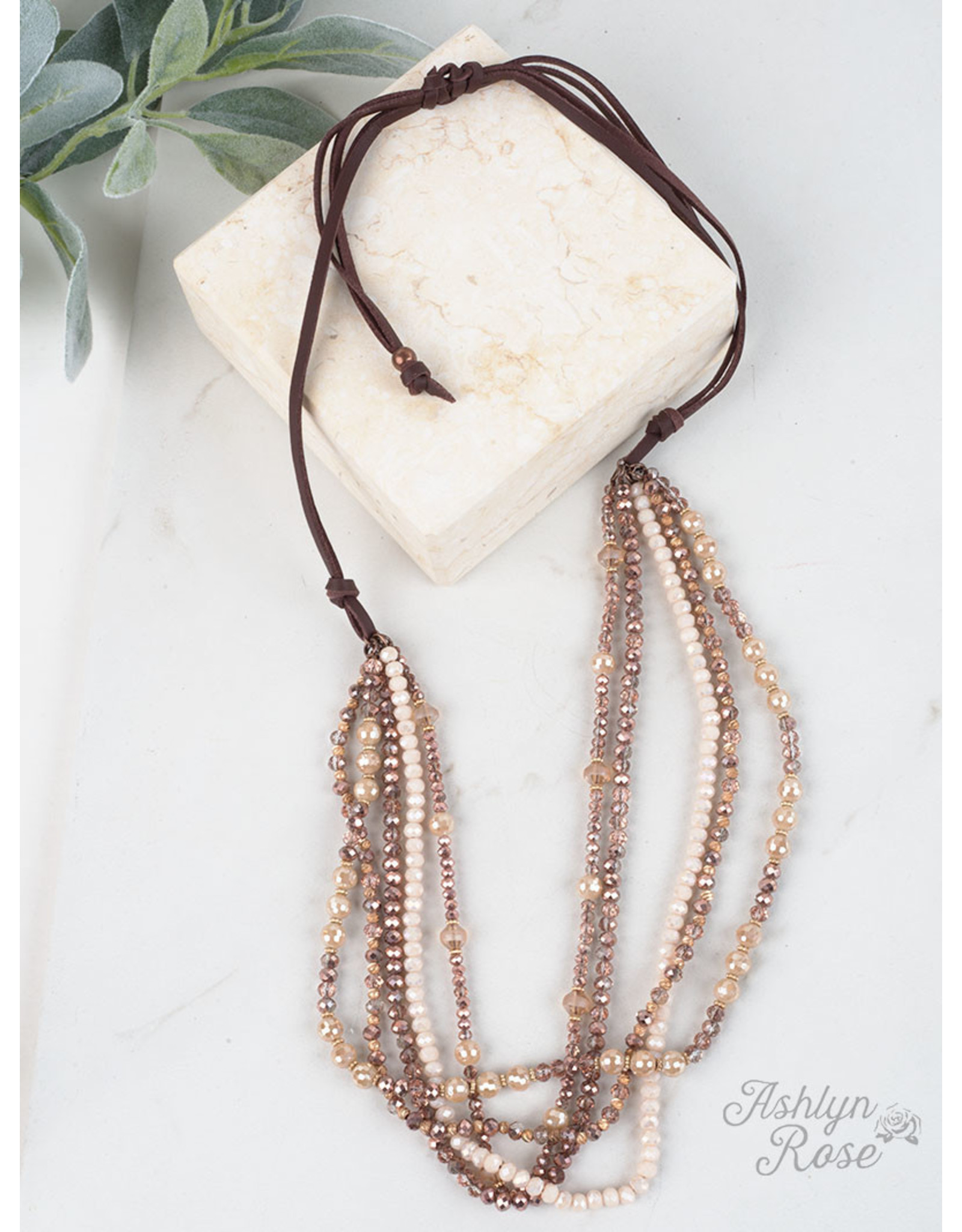 ROSE GOLD DRESSED TO IMPRESS LAYERED NECKLACE